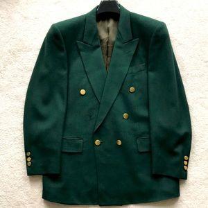 vintage Europe Craft wool/cashmere blazer